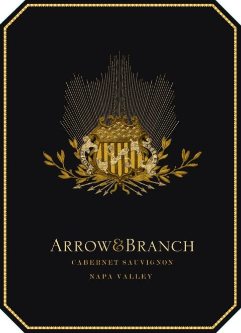 Arrow & Branch Cabernet Sauvignon 2014 Front Label