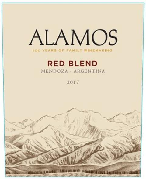 Alamos Red Blend 2017 Front Label