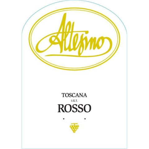 Altesino Rosso di Altesino Toscana 2019  Front Label