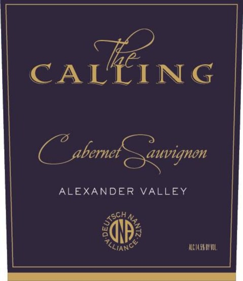 The Calling Cabernet Sauvignon 2016 Front Label