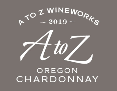 A to Z Chardonnay 2019  Front Label