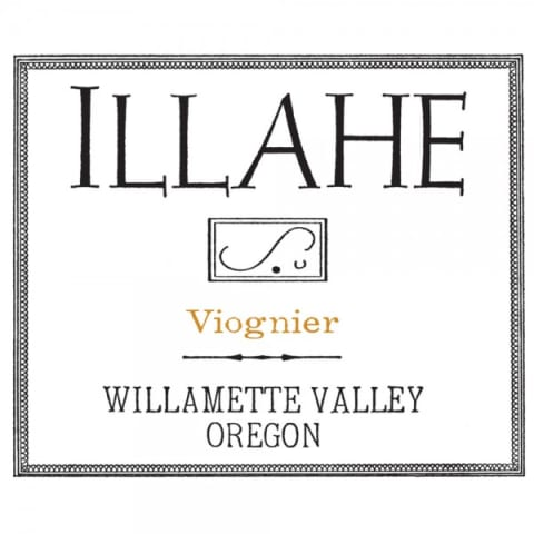 Illahe Vineyards and Winery Viognier 2017 Front Label