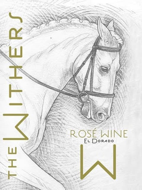 The Withers Rose 2018  Front Label