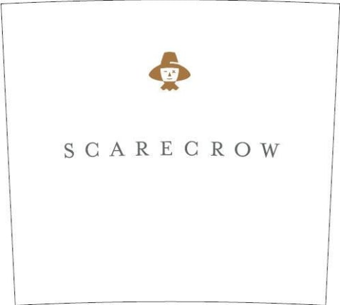 Scarecrow Cabernet Sauvignon (stained labels) 2009 Front Label