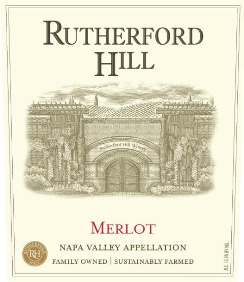 Rutherford Hill Merlot 2016  Front Label