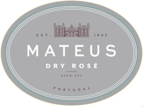Mateus Dry Rose 2020  Front Label