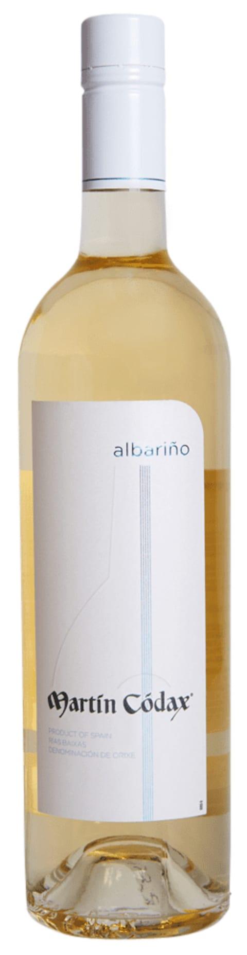 Front shot of wine bottle
