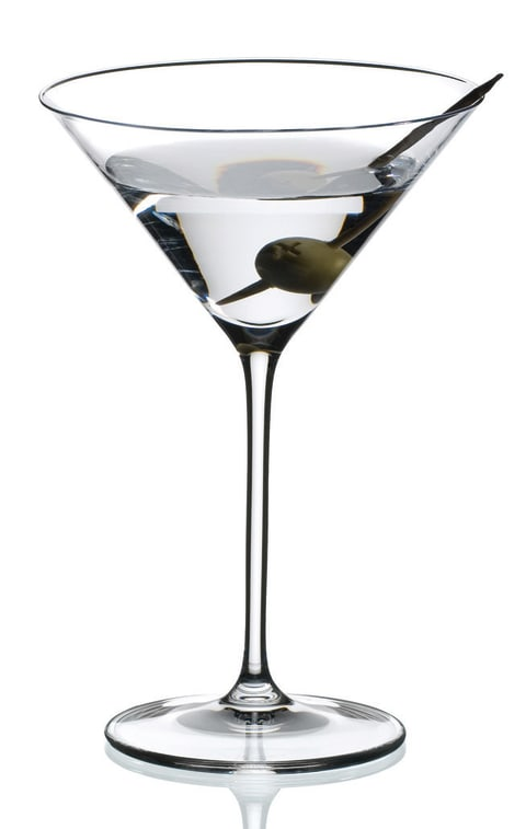 Riedel Martini Glasses (Set of 2)  Gift Product Image