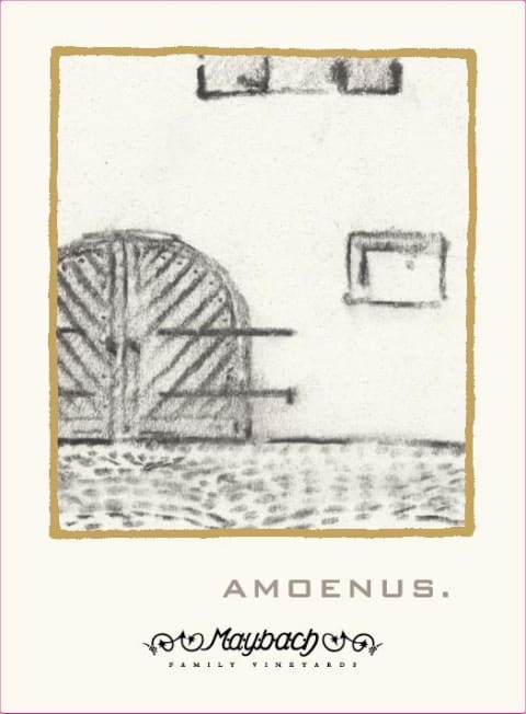 Maybach Family Vineyards Amoenus 2012  Front Label