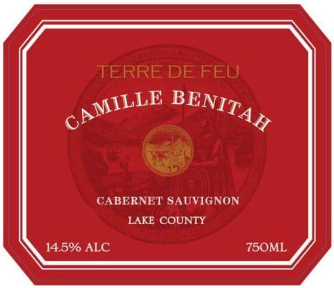 Camille Benitah Terre de Feu Lake County Cabernet