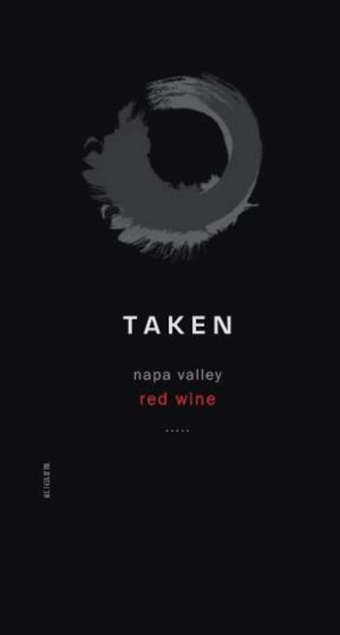 Taken Wine Company Napa Valley Red Blend 2017  Front Label