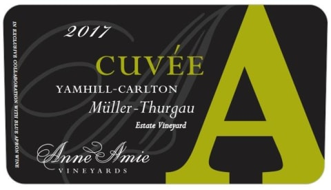 Anne Amie Cuvee A Muller Thurgau 2017  Front Label