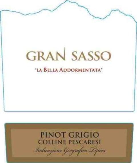 Farnese Gran Sasso La Bella Addormentata Pinot Grigio 2013 ...