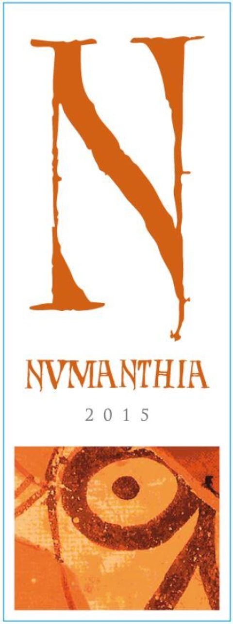 Numanthia Toro 2015  Front Label