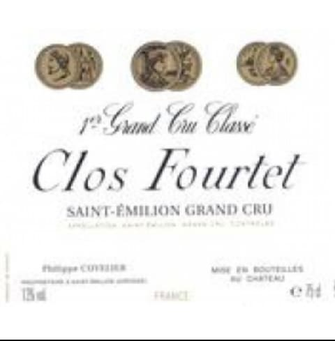 Clos Fourtet  1998  Front Label