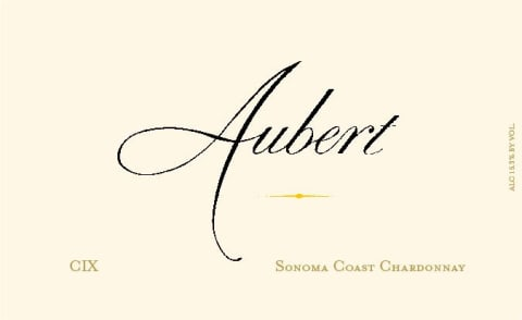 Aubert CIX Vineyard Chardonnay 2017 Front Label