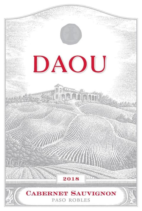 DAOU Vineyards Cabernet Sauvignon 2018  Front Label
