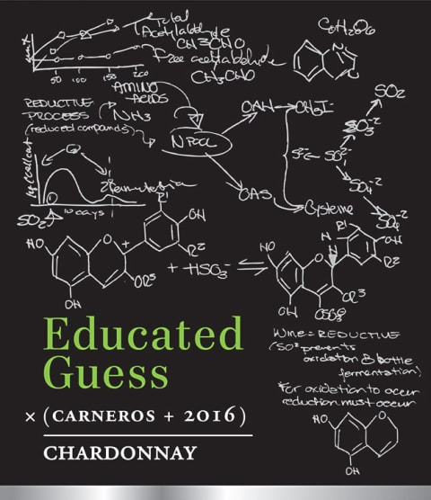 Roots Run Deep Educated Guess Chardonnay 2016 Front Label