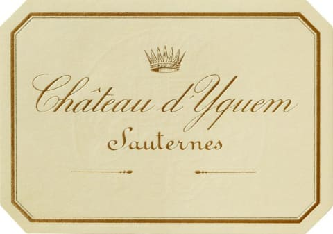 Chateau d'Yquem Sauternes (3 Liter Bottle) 2008 Front Label