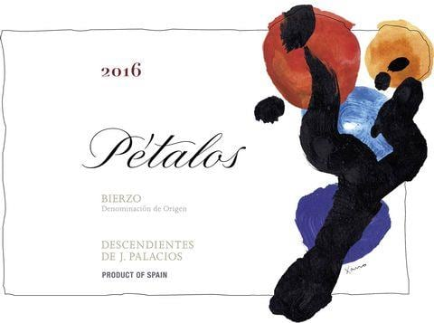 Descendientes de Jose Palacios Petalos 2016 Front Label