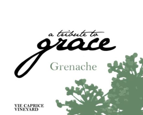 A Tribute to Grace Vie Caprice Vineyard Grenache 2016  Front Label