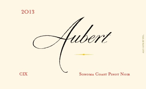 Aubert CIX Vineyard Pinot Noir (1.5L Magnum) 2013  Front Label