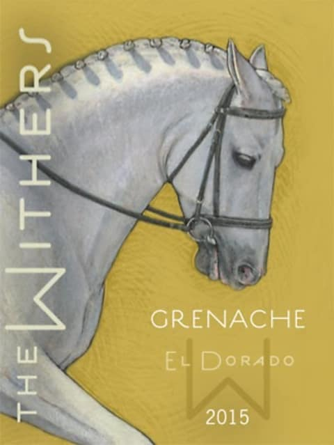 The Withers Grenache 2015 Front Label