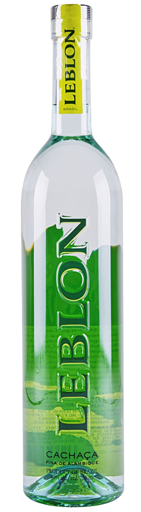 Leblon Cachaca  Front Bottle Shot