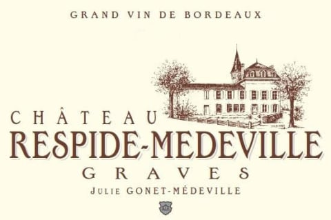 Chateau Respide Medeville Rouge 2016 Front Label