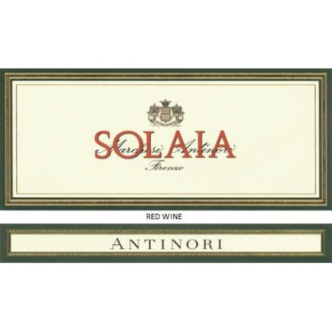 Antinori Solaia (3 Liter Bottle) 2014  Front Label
