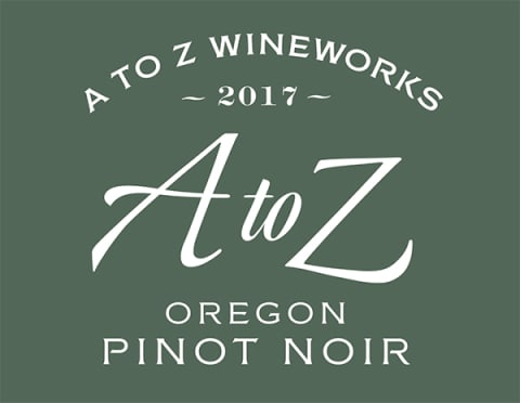 A to Z Pinot Noir 2017  Front Label