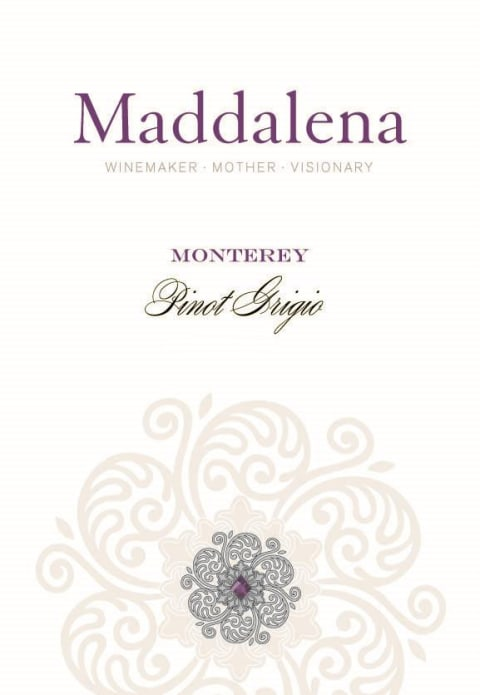 Maddalena Pinot Grigio 2016 Front Label