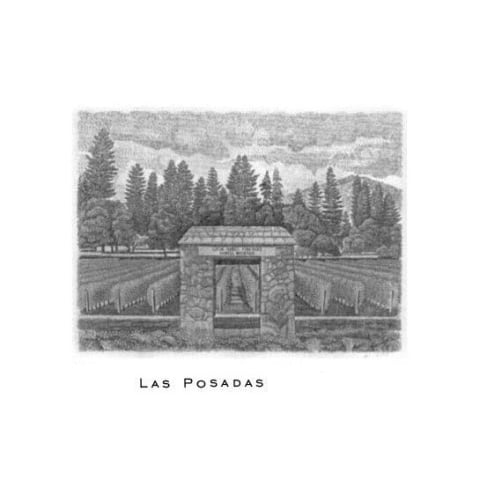 Abreu Vineyards Las Posadas Howell Mountain 2015  Front Label