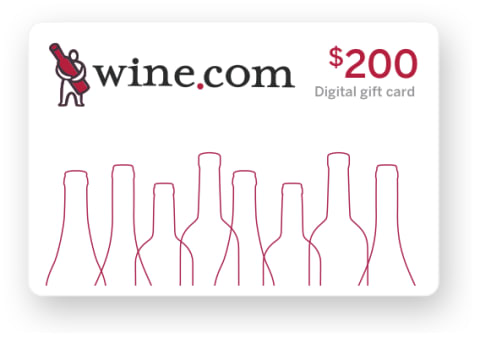 wine.com Gift Card - $200  Gift Product Image