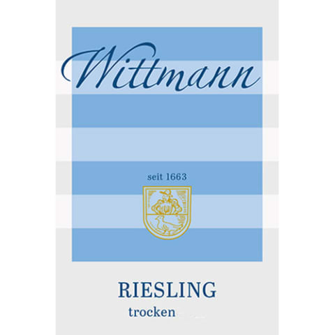 Wittmann Estate Riesling Trocken 2017  Front Label