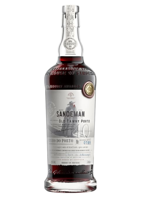 Sandeman 40 Year Old Tawny  Front Bottle Shot
