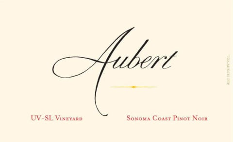Aubert UV-SL Vineyard Pinot Noir (1.5L Magnum) 2012 Front Label