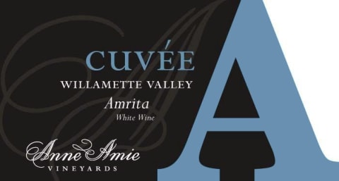 Anne Amie Cuvee A Amrita 2019  Front Label