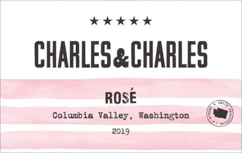 Charles & Charles Rose 2019  Front Label