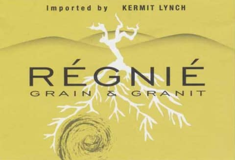 Charly Thevenet Regnie Grain and Granit 2017 Front Label