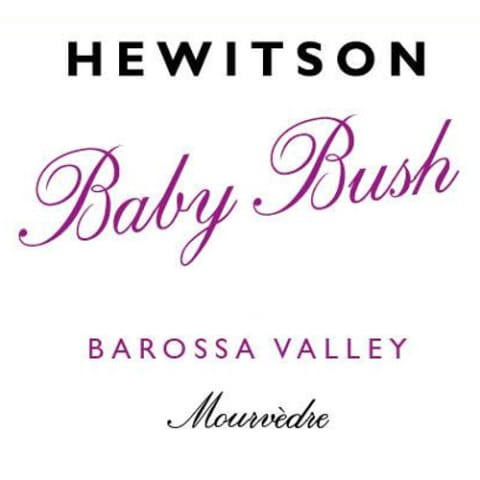 Hewitson Baby Bush Mourvedre 2015  Front Label