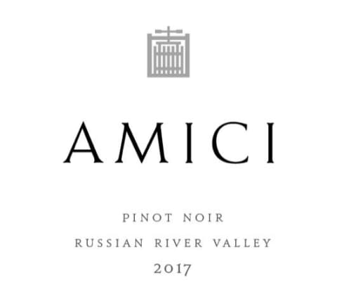 Amici Russian River Pinot Noir 2017 Front Label