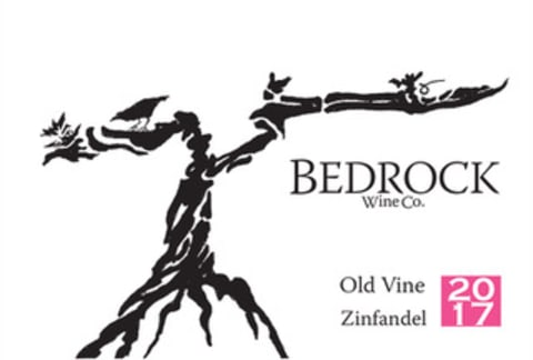 Bedrock Wine Company California Old Vine Zinfandel 2017  Front Label