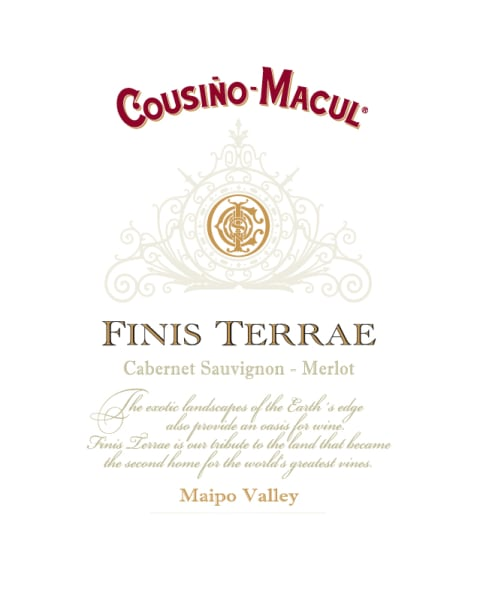 Cousino Macul Finis Terrae 2014  Front Label