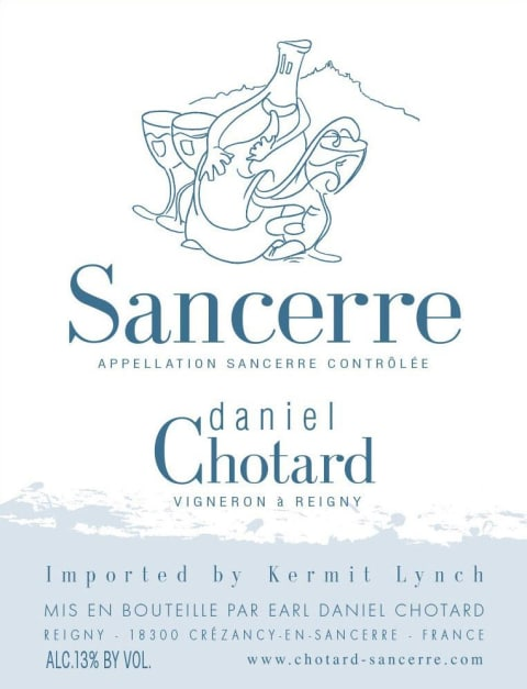 Daniel Chotard Sancerre 2017  Front Label