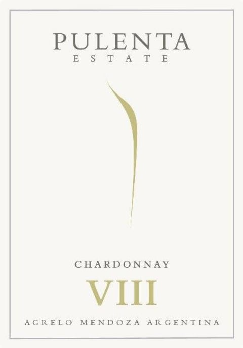 Pulenta Estate Chardonnay 2016  Front Label