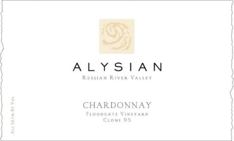Alysian Russian River Selection Chardonnay 2015  Front Label