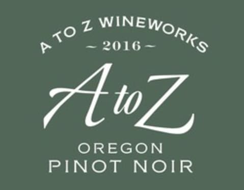 A to Z Pinot Noir 2016  Front Label