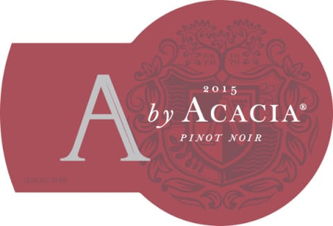 A by Acacia Pinot Noir 2015  Front Label
