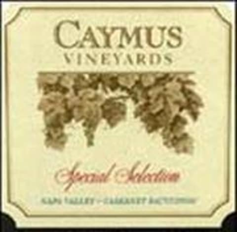 Caymus Special Selection Cabernet Sauvignon 1992  Front Label